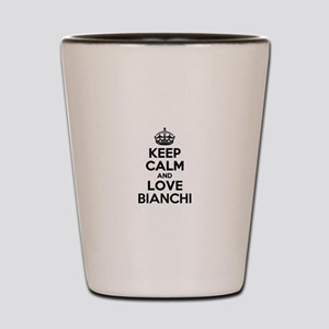 Keep Calm and Love BIANCHI Shot Glass