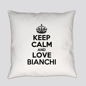 Keep Calm and Love BIANCHI Everyday Pillow