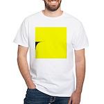 01.learnin to fly/ brite orangedge..? White T-Shir