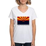 Wy BH&R02w Women's V-Neck T-Shirt