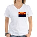 Wy BH&R02w Women's V-Neck T-Shirt