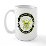 US Navy Recruiting Command Large Mug