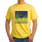 74.dream..? Yellow T-Shirt
