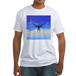 74.dream..? Fitted T-Shirt
