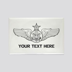 PERSONALIZED SENIOR ENLISTED AIRC Rectangle Magnet
