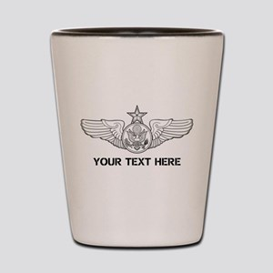 PERSONALIZED SENIOR ENLISTED AIRCREW WI Shot Glass