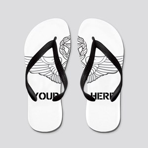 PERSONALIZED MASTER ENLISTED AIRCREW WI Flip Flops