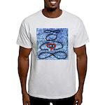 004.infinite being..? Ash Grey T-Shirt