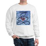 004.infinite being..? Sweatshirt