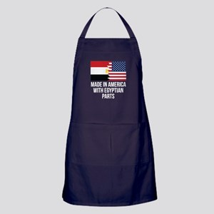 Made In America With Egyptian Parts Apron (dark)