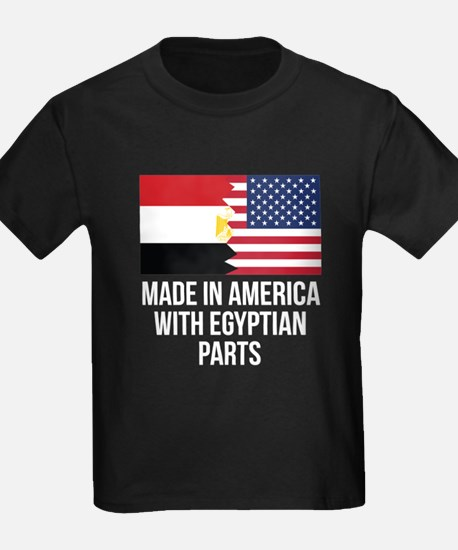 Made In America With Egyptian Parts T-Shirt