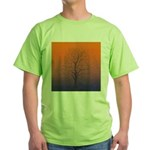 07.spring equinox tree.. Green T-Shirt