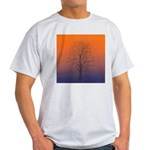 07.spring equinox tree.. Ash Grey T-Shirt