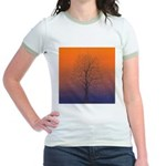 07.spring equinox tree.. Jr. Ringer T-Shirt