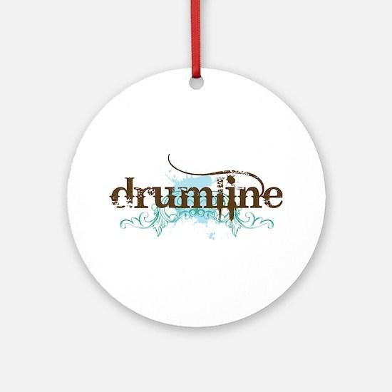 Drumline grunge Ornament (Round)