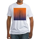07.spring equinox tree.. Fitted T-Shirt