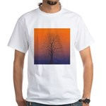 07.spring equinox tree.. White T-Shirt