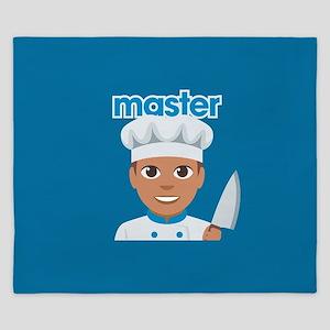 Emoji Master Chef King Duvet
