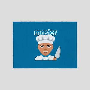 Emoji Master Chef 5'x7'Area Rug