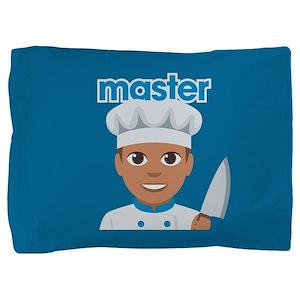 Emoji Master Chef Pillow Sham