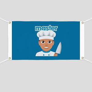 Emoji Master Chef Banner