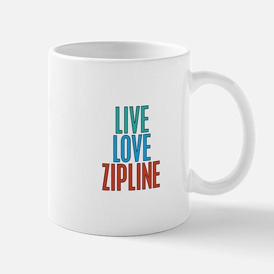 Live Love Zipline Mug