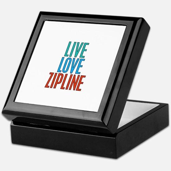 Live Love Zipline Keepsake Box