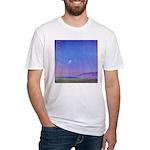 13.venice beach/ prayer..? Fitted T-Shirt