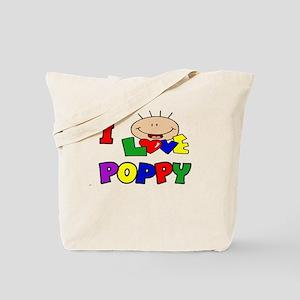 I Love Poppy CUTE Tote Bag
