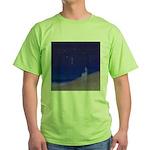 05.secretz beach..? Green T-Shirt