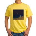 05.secretz beach..? Yellow T-Shirt