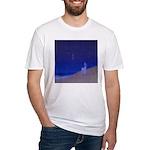 05.secretz beach..? Fitted T-Shirt