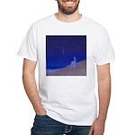 05.secretz beach..? White T-Shirt