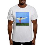 04. rootz & wingz..? Ash Grey T-Shirt