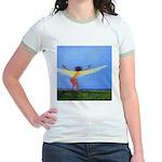 04. rootz & wingz..? Jr. Ringer T-Shirt