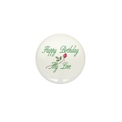 Lover Birthday Mini Button (100 pack)