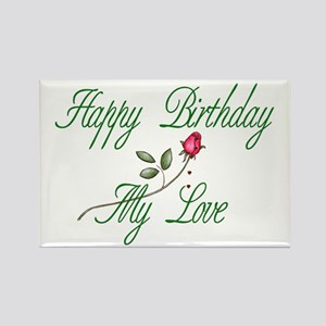 Lover Birthday Rectangle Magnet