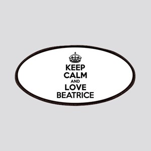 Keep Calm and Love BEATRICE Patch