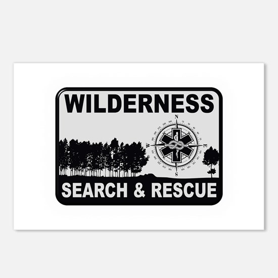 Wilderness Search & Rescue Postcards (Package of 8