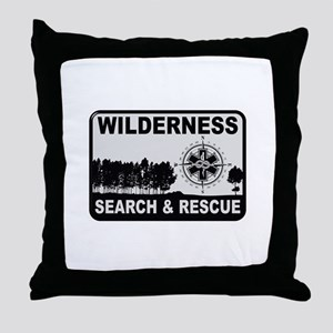 Wilderness Search & Rescue Throw Pillow