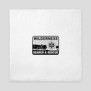Wilderness Search & Rescue Queen Duvet