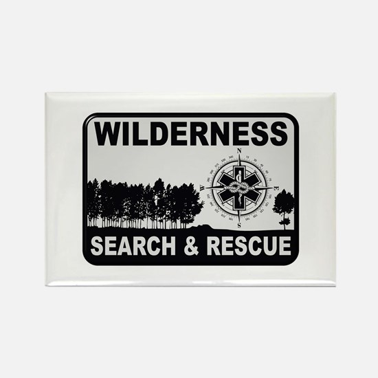 Wilderness Search & Rescue Magnets