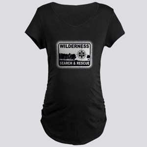 Wilderness Search & Rescue Maternity T-Shirt