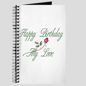 Lover Birthday Journal