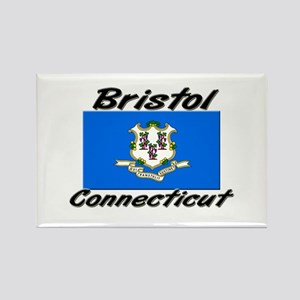 Bristol Connecticut Rectangle Magnet