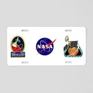 Orbit Insertion Team Logo Aluminum License Plate