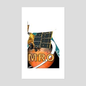 Orbit Insertion Team Logo Sticker (Rectangle)