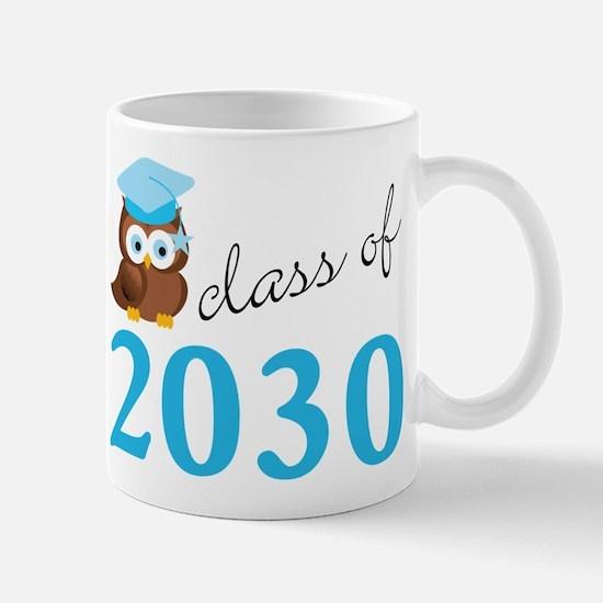 Class Of 2030 Owl Graduation Gift Mugs