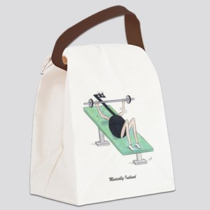 Musically Inclined Canvas Lunch Bag