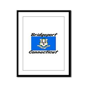 Bridgeport Connecticut Framed Panel Print